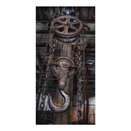 Steampunk - Industrial Strength Custom Photo Card