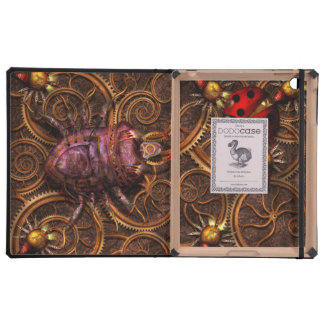 Steampunk - Insect - Itsy bitsy spiders iPad Folio Case