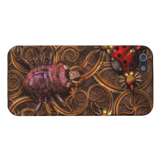 Steampunk - Insect - Itsy bitsy spiders Covers For iPhone 5