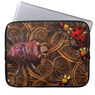 Steampunk - Insect - Itsy bitsy spiders Laptop Sleeves