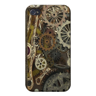 Steampunk iPhone 4/4S Case