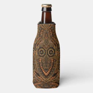 Steampunk Kaleidoscope  Custom Bottle Cooler