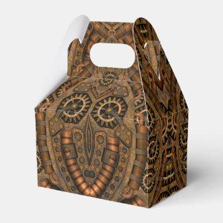 Steampunk Kaleidoscope  Gable Favor Box