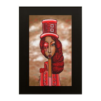 Steampunk Lady Acrylic Print