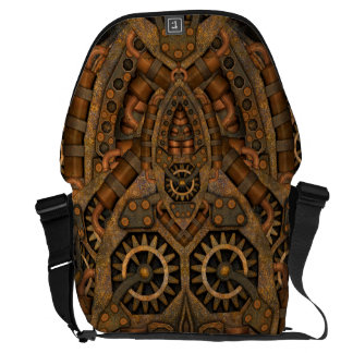 Steampunk Large Messenger Bag