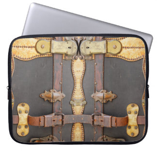 Steampunk Luggage Electronics Bag