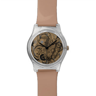 Steampunk Machinery (Brassy) Watch