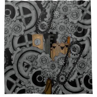 Steampunk Machinery (Full Colour) Shower Curtain