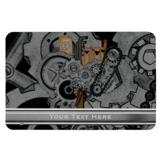 Steampunk Machinery Flexible Magnet