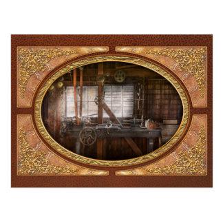 Steampunk - Machinist - My tinkering workshop Postcard