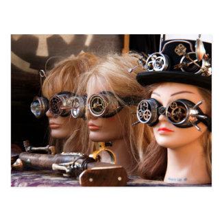 Steampunk Mannequins Postcard
