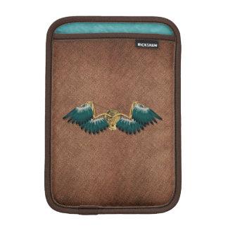Steampunk Mechanical Wings Brown iPad Mini Sleeve