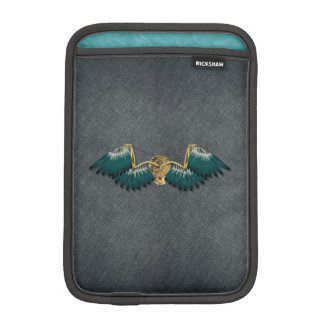 Steampunk Mechanical Wings Grey iPad Mini Sleeve