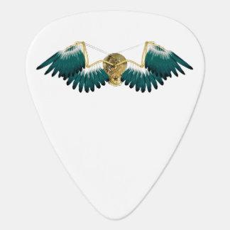 Steampunk Mechanical Wings Guitar Pick