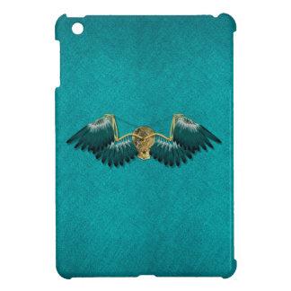 Steampunk Mechanical Wings Teal iPad Mini Covers