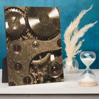 Steampunk Metal Gears Plaques