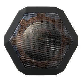 Steampunk Moon Clock Time Metal Gears Black Bluetooth Speaker