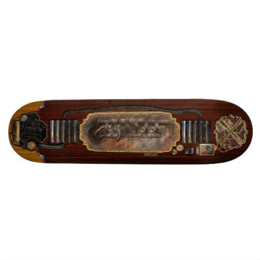 Steampunk - Motorized Skate Board Decks