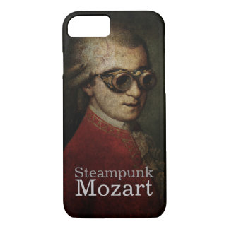 Steampunk Mozart Classical Music Composer iPhone 8/7 Case