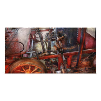 Steampunk - My transportation device Picture Card