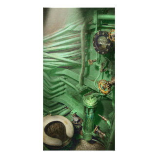 Steampunk - Naval - Plumbing - The head Photo Greeting Card