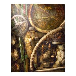 Steampunk - Naval - Watch the depth Flyer