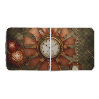 Steampunk, noble design beer pong table