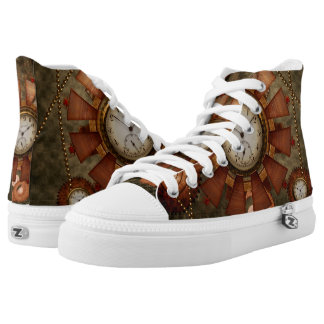 Steampunk, noble design high tops