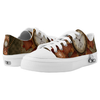 Steampunk, noble design low tops
