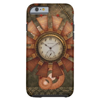 Steampunk, noble design tough iPhone 6 case