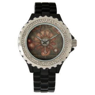 Steampunk, noble design watch