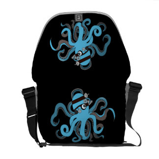 Steampunk octopus commuter bag