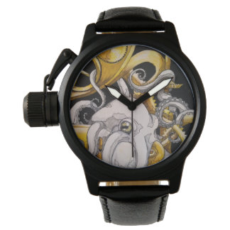 Steampunk Octopus Watch