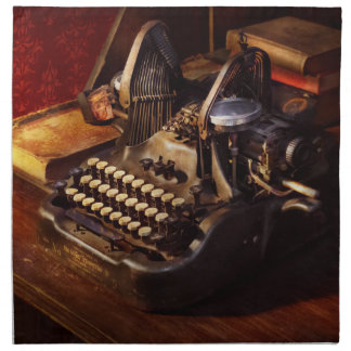 Steampunk - Oliver's typing machine Napkin