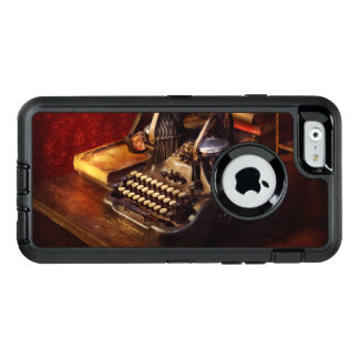 Steampunk - Oliver's typing machine OtterBox Defender iPhone Case