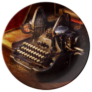 Steampunk - Oliver's typing machine Plate