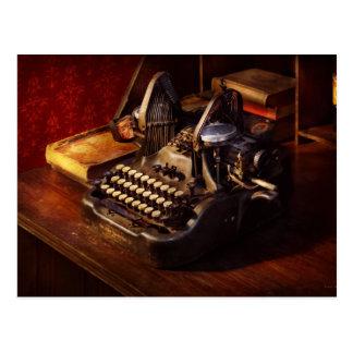 Steampunk - Oliver's typing machine Postcard