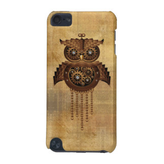 Steampunk Owl Vintage Style iPod Touch 5 Case