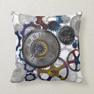 STEAMPUNK patterns Home decor Cushion