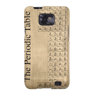 Steampunk Periodic Table Samsung Galaxy S2 Covers