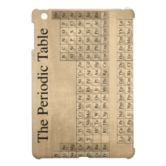 Steampunk Periodic Table iPad Mini Cover
