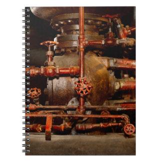 Steampunk - Pipe dreams Notebook