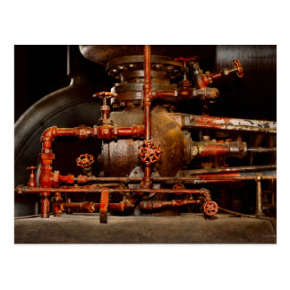Steampunk - Pipe dreams Postcard