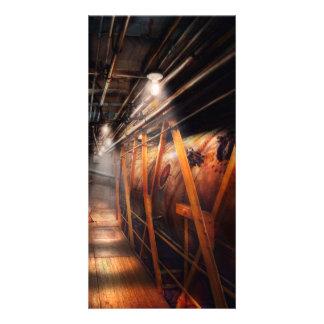 Steampunk - Plumbing - The hallway Photo Cards