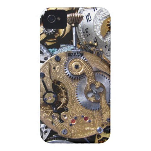 steampunk pocket watch blackberry bold cover