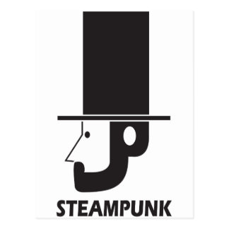 Steampunk Post Card