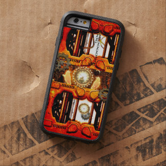 Steampunk red golden design tough xtreme iPhone 6 case