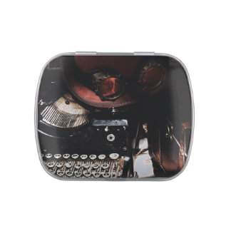 Steampunk Reflections Jelly Belly Candy Tin