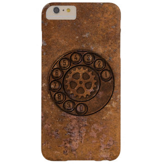 Steampunk Rotary Dial Phone Barely There iPhone 6 Plus Case