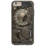 Steampunk Rotary Metal Dial Phone. Tough iPhone 6 Plus Case